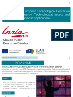Presentación Inria - Centros Tecnológicos de Innovación en Energía - en Europa