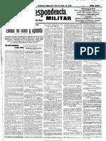 La Correspondencia Militar. 29-7-1914, n.º 11.197