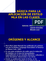 MLA-Spanish.ppt