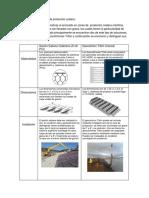 Comparación Sistemas de Protección Costera