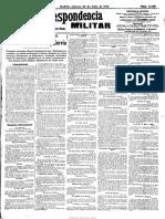 La Correspondencia Militar. 30-7-1914, n.º 11.198