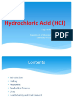 Hydrochloric Acid Production