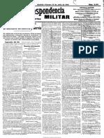 La Correspondencia Militar. 31-7-1914, n.º 11.199