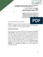 LEGIS.pe Cas. Lab. 13298 2015 Tacna Ejercer Representación Legal de Empresa No Necesariamente Determina Existencia de Relación Laboral