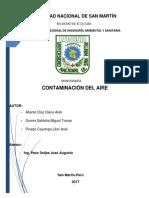 Contaminacion Del Aire (Trabajo)