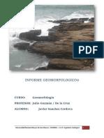 Informe Morro Solar Geomorfología