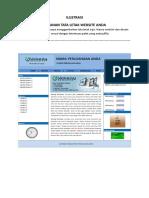 Form Isian Website - Paket f
