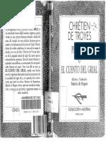 Chr Tien de Troyes. Perceval o El Cuento Del Grial