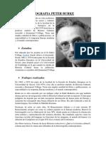 Biografia Peter Burke
