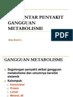 ggn metabolisme