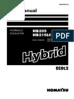 HB205,215LC-1 Shop Manual