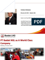Presentasi PTB as World Class Company
