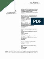 Esperimento Sox Documenti Ministero Sviluppo Economico