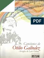 Partituras Otilio Galíndez