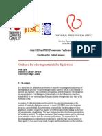 03 Guidelines for Digital Imaging