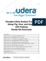 Data Analyst Training Exercise Manual 201403