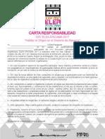 Carta-responsabilidad y Reglamento