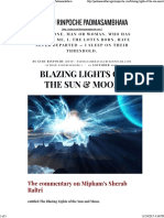 Blazing Lights of the Sun & Moon - Guru Rinpoche Padmasambhava