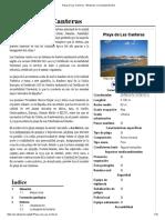 Playa de Las Canteras - Wikipedia, La Enciclopedia Libre