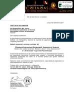 Carta de Invitación - Brigette Paola Niño Ventura