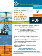 EIT Adv Dip Applied Electrical Engineering Electrical Systems Brochure Full DEE