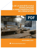 Appel Contre La Marchandisation de LEducation 1