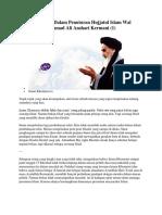 Imam Khomeini Dalam Penuturan Hujjatul Islam Wal Muslimin Mohammad Ali Anshari Kermani