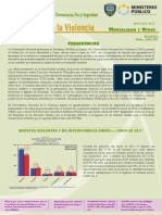 Informe Enero-Junio 2017 Observatorio de la Violencia Honduras