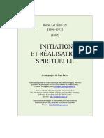 Initiation Realisation Spirituelle
