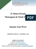 O Abuso Sexual