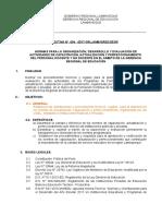 Directiva N° 04 .GRED - Capacitación