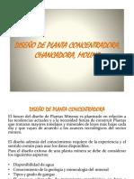 12. Diseño de Planta Concentradora, Chancadora, Molino