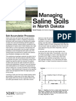 managinf of saline soils in north dakota