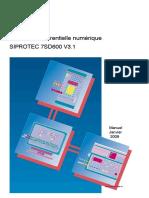 7SD600x Manual A2 V3.1 Fr