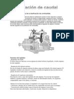 Regulación Mecánica de La Dosificación de Combustible