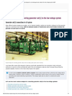 4 Typical Designs for Connecting Generator Set(s) to the Low Voltage System _ EEP