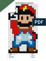 Tabla de Valencias Quimica - Pixeles Mario Bross
