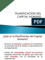 Planificación de Capital Humano