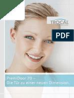 TROCAL PremiDoor 70 Prospekt Standard 401PR5622 1014 Web