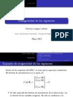 Clase2 Endogeneidad de Los Regresores