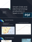 Smart Grids and Electrical Energy Production in Spain in 2035