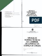 Manual Normas Tecnicas Campanha Controle Doenca Chagas