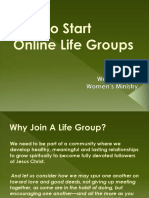 WM How to Start Online Life Groups