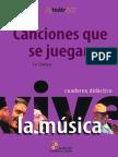 Canciones Que Se Juegan (La Carraca) - Cuaderno Didáctico