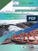 Análisis de Eventos Extremos en Las Regiones de Cusco y Apurímac