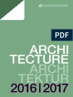Architecture GE 2016 2017