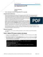 10.2.3.4 Lab - Exploring FTP