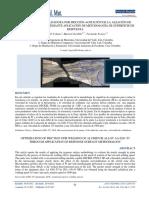 Optimizacion de Soldadura Por Friccion Agitacion de La Aleacion de Aluminio Aa 6261 t5 Mediante Aplicacion de Metodologia de Superficie de Respuesta