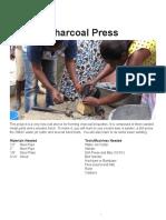 Charcoal Press Manual