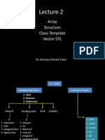 Lecture 2 Data Structure  array & vector.ppt